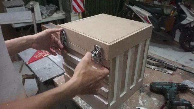 cara membuat kontainer kayu