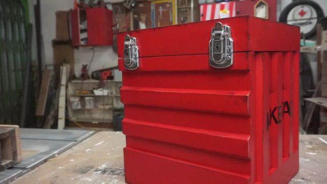 box container dari kayu