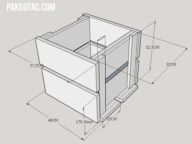Design plan pot kayu