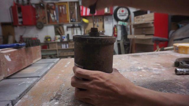 tangki pompa air