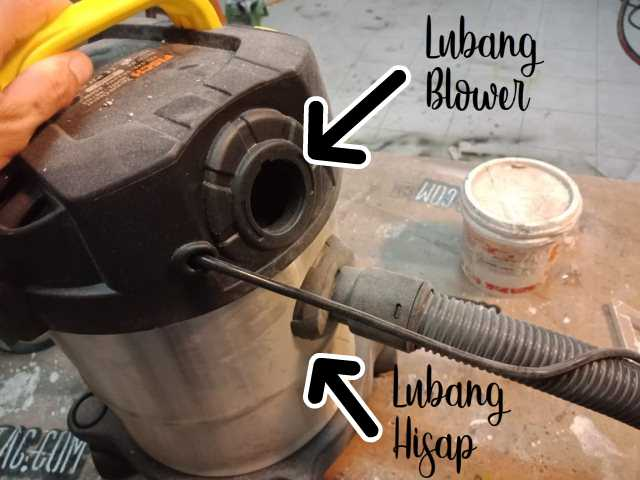 REVIEW FISCH MB12LS lubang hisap dan lubang blower