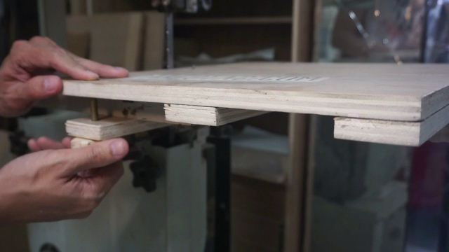 jig lingkaran dari plywood